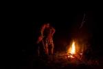 Zorana i Neša kod vatre