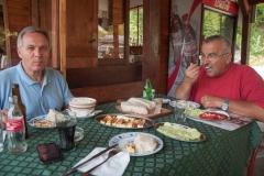 Doručak kod Muje na Lepenskom Viru za početak ture