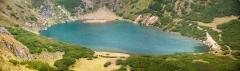 Jezero pod samim vrhom Čindrel