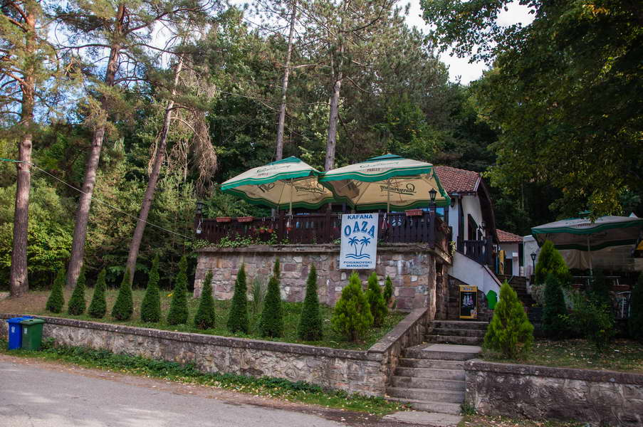 A nice restaurant by the Poganovo monastery