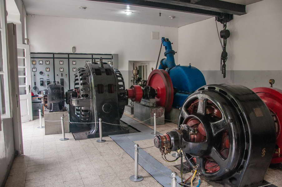 Inside one of the oldest hydroelectric plants in Serbia...