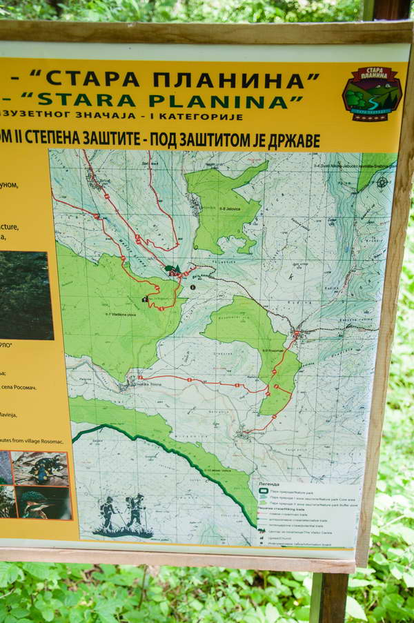 Širom Stare planine postavljene su info table sa mapama