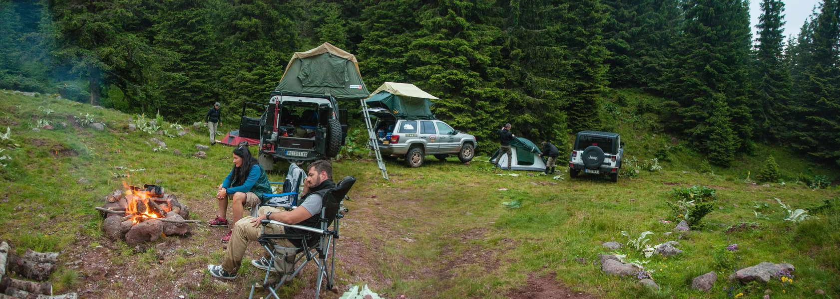 Naš kamp druge noći ispod Beleđa