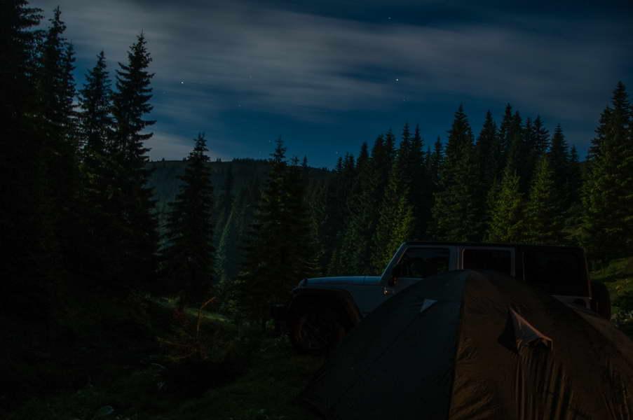 Noć u najvećoj divljini koja se može naći u Srbiji