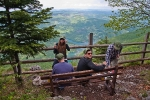 Klupica 1000 metara iznad Drine